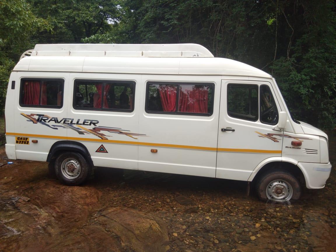 Goa Car Rental Sruti Travels