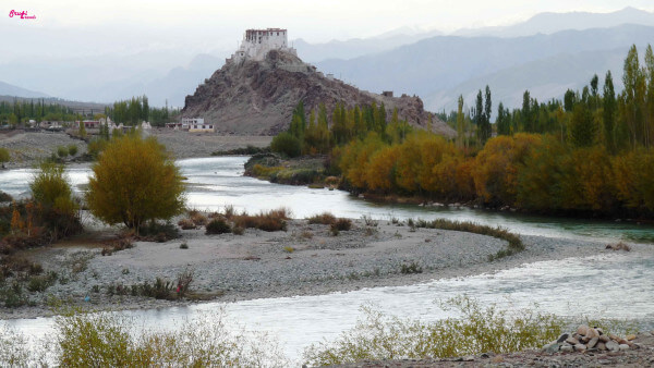 Stakna Monastery by the Indus